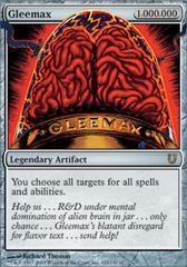 Gleemax - Foil on Channel Fireball