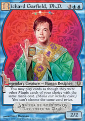 Richard Garfield, Ph.D. - Foil on Channel Fireball