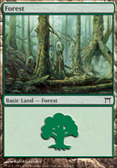 Forest (303) - Foil on Channel Fireball