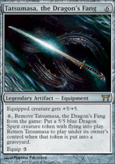 Tatsumasa, the Dragon's Fang - Foil