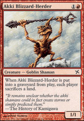 Akki Blizzard-Herder - Foil on Channel Fireball