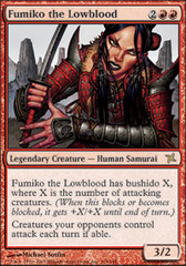 Fumiko the Lowblood - Foil on Channel Fireball
