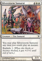 Silverstorm Samurai - Foil on Ideal808
