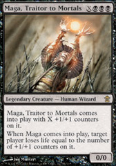 Maga, Traitor to Mortals - Foil on Channel Fireball
