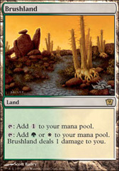 Brushland - Foil on Channel Fireball