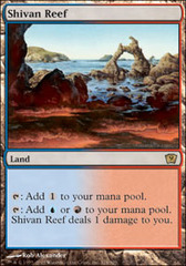 Shivan Reef - Foil on Channel Fireball