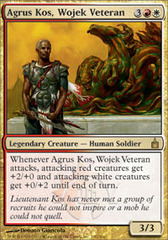 Agrus Kos, Wojek Veteran - Foil on Channel Fireball