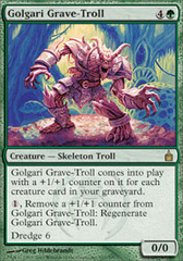 Golgari Grave-Troll - Foil on Ideal808