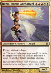 Razia, Boros Archangel - Foil on Channel Fireball