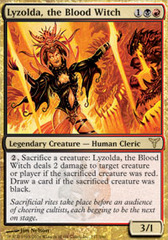 Lyzolda, the Blood Witch - Foil on Channel Fireball