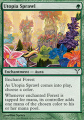 Utopia Sprawl - Foil on Channel Fireball