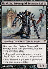 Haakon, Stromgald Scourge - Foil on Channel Fireball