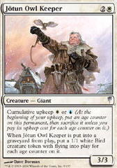 Jotun Owl Keeper - Foil on Ideal808