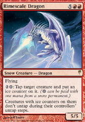 Rimescale Dragon - Foil on Channel Fireball