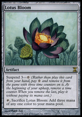 Lotus Bloom - Foil on Channel Fireball