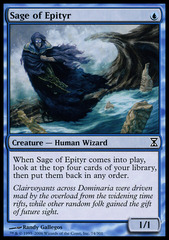 Sage of Epityr - Foil on Channel Fireball