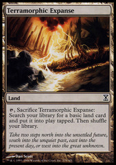 Terramorphic Expanse - Foil on Channel Fireball