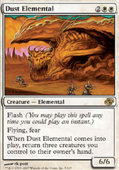 Dust Elemental - Foil on Channel Fireball