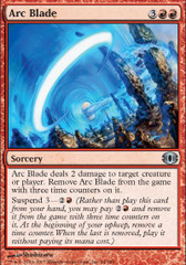 Arc Blade - Foil on Channel Fireball
