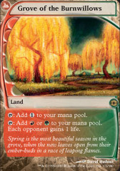 Grove of the Burnwillows - Foil on Channel Fireball
