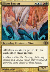 Sliver Legion - Foil on Channel Fireball