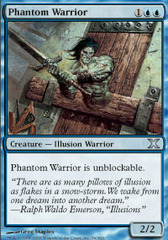 Phantom Warrior - Foil on Ideal808
