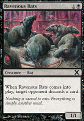 Ravenous Rats - Foil on Channel Fireball