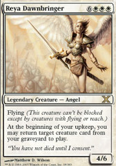Reya Dawnbringer - Foil on Channel Fireball