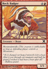Rock Badger - Foil