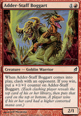 Adder-Staff Boggart - Foil on Channel Fireball