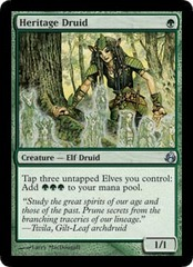 Heritage Druid - Foil on Channel Fireball