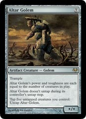 Altar Golem - Foil on Channel Fireball