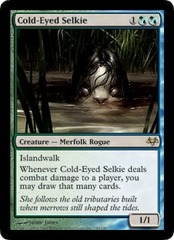 Cold-Eyed Selkie - Foil on Channel Fireball