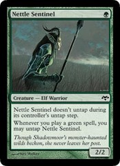 Nettle Sentinel - Foil on Channel Fireball