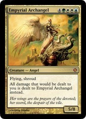 Empyrial Archangel - Foil on Channel Fireball