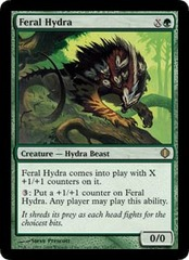 Feral Hydra - Foil on Ideal808