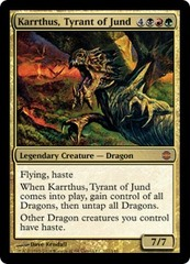 Karrthus, Tyrant of Jund - Foil on Ideal808