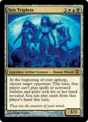 Sen Triplets - Foil on Channel Fireball