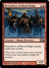 Berserkers of Blood Ridge - Foil