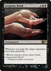 Sanguine Bond - Foil on Channel Fireball