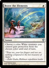 Brave the Elements - Foil on Channel Fireball