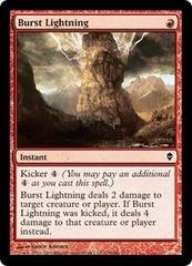 Burst Lightning - Foil