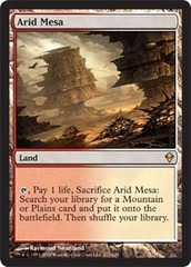 Arid Mesa - Foil on Channel Fireball