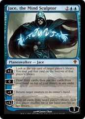 Jace, the Mind Sculptor - Foil on Ideal808