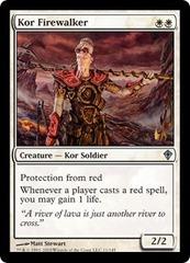 Kor Firewalker - Foil on Channel Fireball