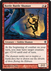 Battle-Rattle Shaman - Foil on Channel Fireball