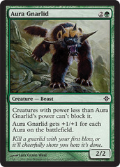 Aura Gnarlid - Foil on Channel Fireball