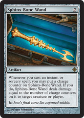 Sphinx-Bone Wand - Foil