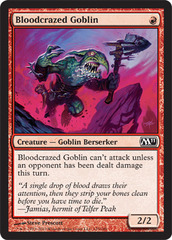 Bloodcrazed Goblin - Foil