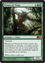 Primeval Titan - Foil on Channel Fireball